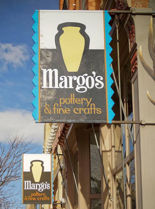 Margo's Pottery Storefront