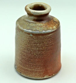 Stoneware Bottle by Lynn Munns