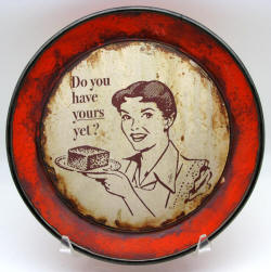 do you have yours yet vintage plate by steve hansen