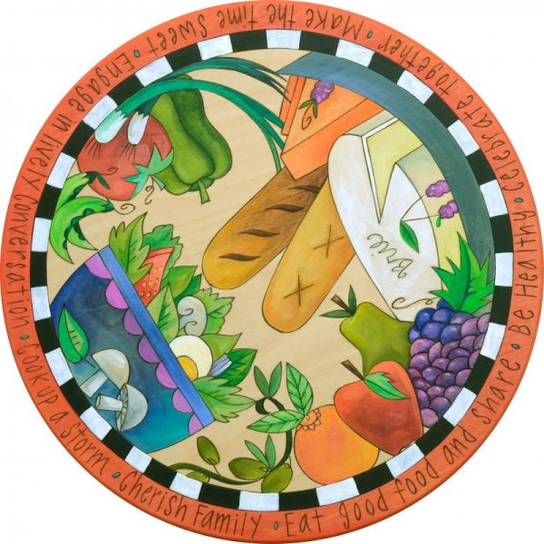 Enjoy Nature's Bounty - Lazy Susan by Sincerely Sticks