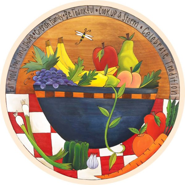 Robin's Bowl Lazy Susan by Sincerely Sticks