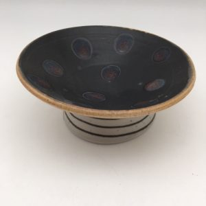 Porcelain Spaceship Ice Cream Bowl by Delores Fortuna