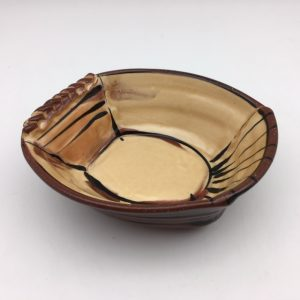 Gold Terracotta Oval Dish by Victoria Christen - 23