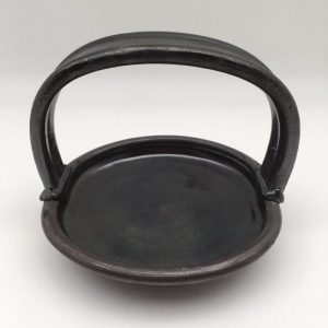 Black Porcelain Basket by Margo Brown