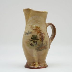 painted Terracotta Creamer by Mary Briggs