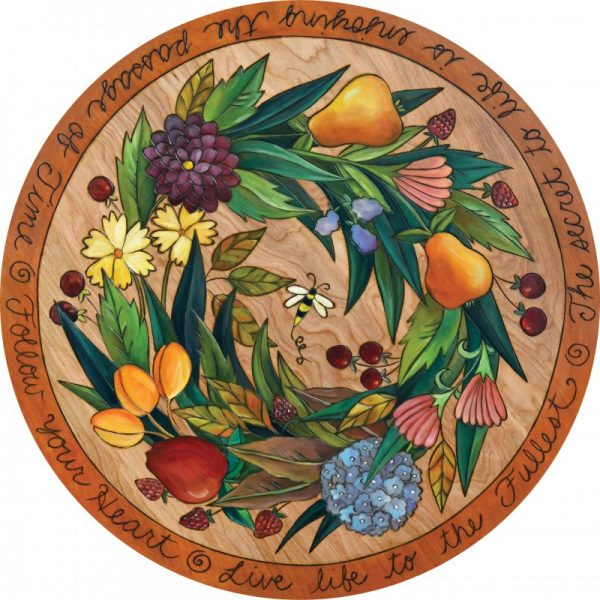 fruit Bee Heaven Lazy Susan by Sincerely Sticks