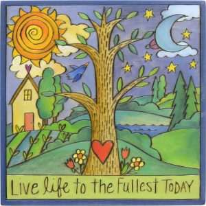 Tree of Life Plaque by Sincerely Sticks