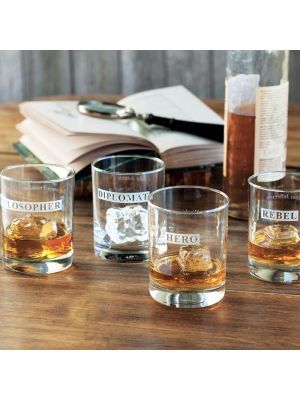 Forefathers Old-Fashioned Glass Set of 4 by Rolf