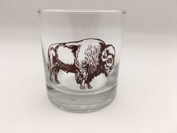 Old Fashioned Bison Glass by Counter Couture