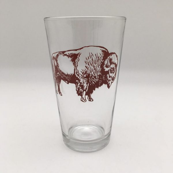 Bison Counter Couture Pint Glass