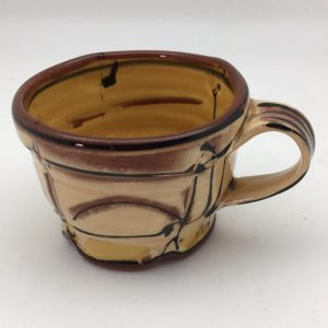 tan brown Terracotta Mug by Victoria Christen