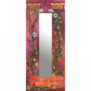 flowered Reflect Mirror by Sincerely Sticks