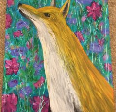Fox and Flowers by Kelsey McDonnell - 216