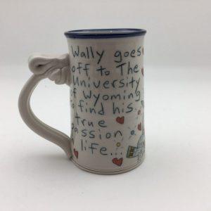 University of Wyoming Wallyware Mug by Tom Edwards