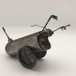 metal Mini Desk Cannon by Fred Conlon
