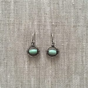 mint Lil Mondo Earrings by INK