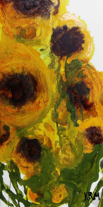 Yellow Flowers painting by Kelsey McDonnell