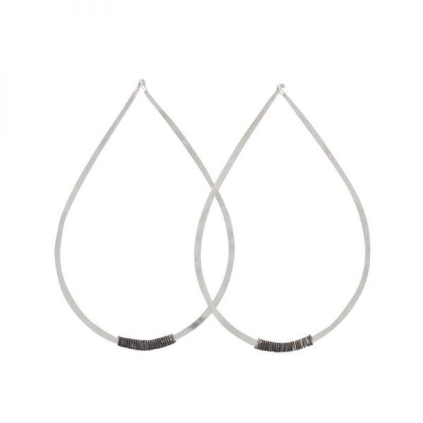 Stila Sterling Silver Post Earrings by bohemi