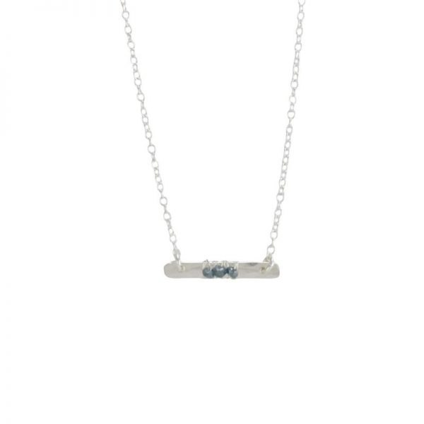 Talea Sterling Silver Necklace by bohemi