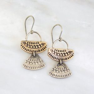 Asmi Mixed Duo Earrings Sarah Deangelo