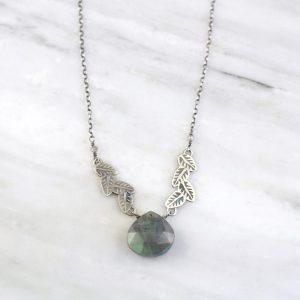 Garland Labradorite Collar Necklace Sarah Deangelo