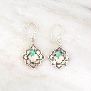 Desert Rose Amazonite Earrings Sarah Deangelo