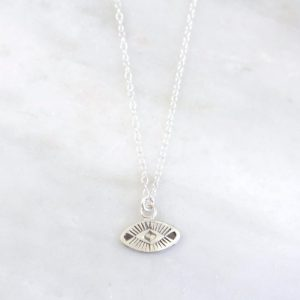 South West Eye Charm Necklace Sarah Deangelo