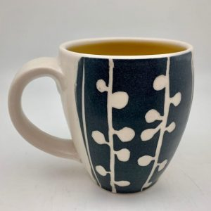 Sprout Mug - Yellow by Rita Vali