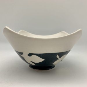 Leaves Medium 4 Corners Bowl by Rita Vali