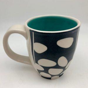 Stones Mug - Turquoise by Rita Vali