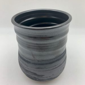 Black Utensil Holder by Margo Brown