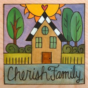 "Caitlin's House - 6"" Plaque by Sincerely Sticks"