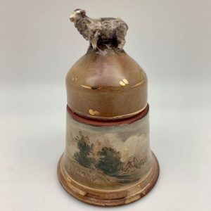 Terracotta Sheep Jar by Mary Briggs