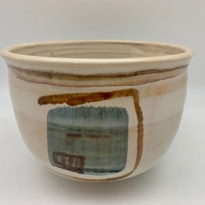 Porcelain Design Bowl by Margo Brown