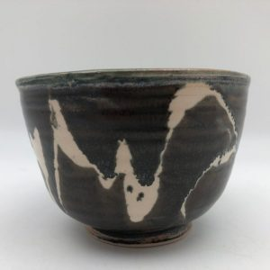 Brown and White Bowl by Margo Brown