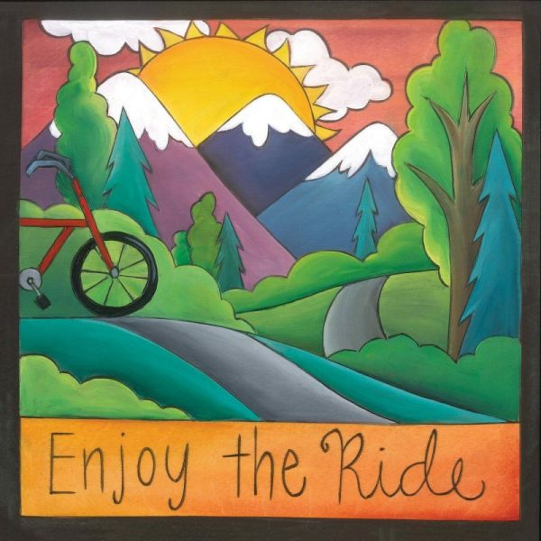"Open Road 6"" Plaque by Sincerely Sticks"