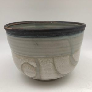 Two-tone Celadon Bowl by Margo Brown