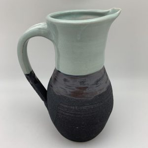 Two-Tone Porcelain Pitcher by Margo Brown