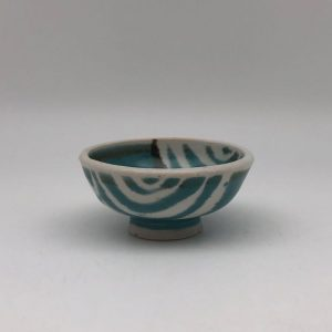 Small Patterned Porcelain Bowl by Margo Brown