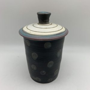 Lidded Jar by Delores Fortuna