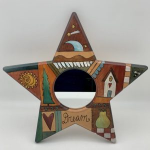 """Dream"" Star Mirror by Sticks"