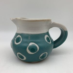 Spotted Porcelain Pitcher by Margo Brown