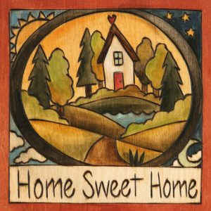 "Looks Like Home 6"" Plaque by Sincerely Sticks"