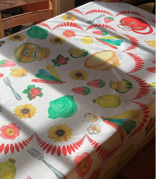 Kitchen Kitsch Tablecloth by Mim & Poppy