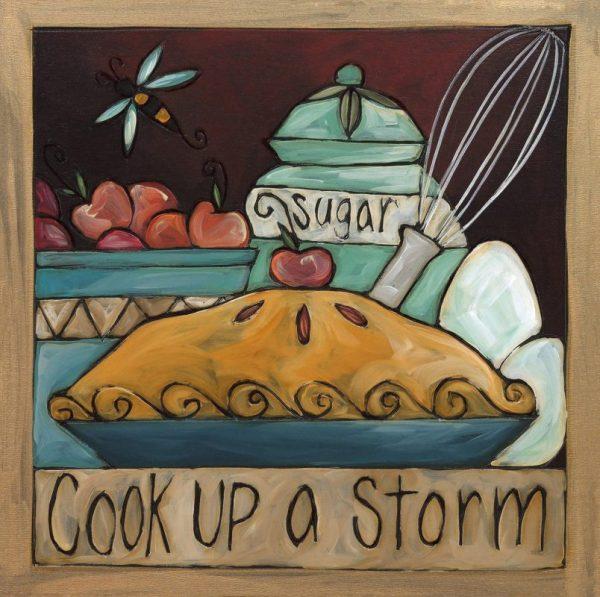 "Sugie's Kitchen 6"" Plaque by Sincerely Sticks"