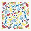 Fruit Basket Tablecloth by Mim & Poppy Print Swatch