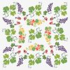 Grape Arbor Tablecloth by Mim & Poppy Print Swatch