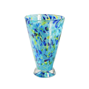 Speckle Cup - Blue Kingston Glass Studio