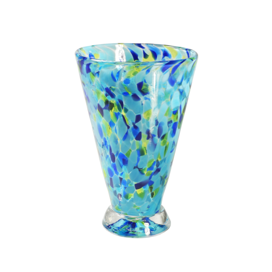 Speckle Cup - Blue Kingston Glass Studio