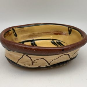 Yellow Terracotta Bowl by Victoria Christen